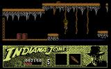 Indiana Jones and the Last Crusade: The Action Game Commodore 64 Carefully climbing ropes...