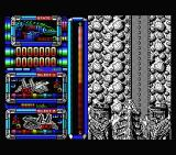 Silent Shadow MSX The flying base enters...