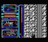 Silent Shadow MSX Shooting at enemies.