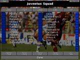 Championship Manager 2: The Italian Leagues Season 96/97 DOS Juventus squad