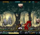 Kishin Dōji ZENKI: Battle Raiden SNES Powered down Zenki might be small, but most enemy attacks go right over his head.