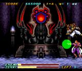 Kishin Dōji ZENKI: Battle Raiden SNES Midway through the fight he ditches the gown and starts flinging projectiles.