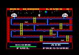Astro Plumber Amstrad CPC Starting the game.