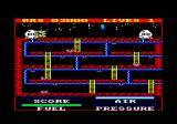 Astro Plumber Amstrad CPC I overfilled my air.