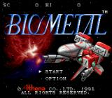 BioMetal SNES Title screen (Japan)
