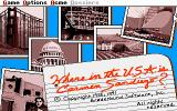 Where in the U.S.A. Is Carmen Sandiego? (Enhanced) DOS Title screen