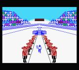 The Games: Winter Edition MSX Running with the torch in the opening ceremony.