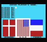 The Games: Winter Edition MSX Enter your name and select your country.
