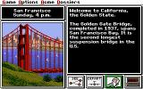 Where in the U.S.A. is Carmen Sandiego? (Enhanced) DOS in S.F. Bay