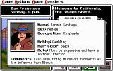 Where in the U.S.A. is Carmen Sandiego? (Enhanced) DOS Carmen's dossier
