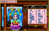Mahō Shōjo Fancy Coco PC-98 Coco's stats