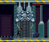 Demolition Man SNES Shutting down this robot valet the old fashioned way.