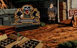 Full Throttle DOS The game's starting location. Bringing up the interface