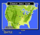 Super Bases Loaded 3: License to Steal SNES Choose a team