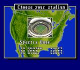 Super Bases Loaded 3: License to Steal SNES Select a stadium