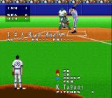 Super Bases Loaded 3: License to Steal SNES At bat