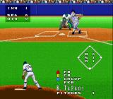 Super Bases Loaded 3: License to Steal SNES Swing and a miss