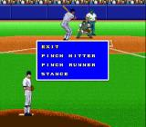 Super Bases Loaded 3: License to Steal SNES Time out while batting