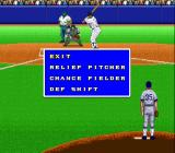 Super Bases Loaded 3: License to Steal SNES Time out while pitching