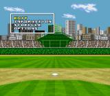 Super Bases Loaded 3: License to Steal SNES Season menu