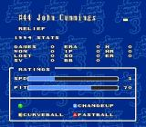 Super Bases Loaded 3: License to Steal SNES Details on a player