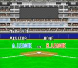 Super Bases Loaded 3: License to Steal SNES The MVP game features the American league all-stars vs. the National League all-stars