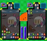 Super Bomberman: Panic Bomber W SNES Blocks disappear when 3 of the same color match either horizontally, vertically, and diagonally