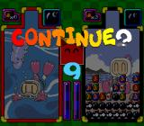 Super Bomberman: Panic Bomber W SNES Continue screen