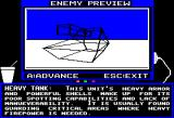 Arcticfox Apple II The enemy preview mode