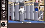 Gakuen Bomber PC-98 Locker room. Spot the voyeur! :)