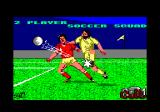 2 Player Soccer Squad Amstrad CPC Title and loading screen