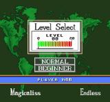 Super Tetris 3 SNES Settings for endless Magicaliss mode