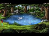 King's Quest II: Romancing the Stones Windows Version 3.0: Swan lake