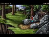 King's Quest II: Romancing the Stones Windows Version 3.0: Rock face