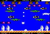 Frogger II: ThreeeDeep! Apple II The underwater scene