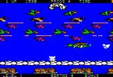 Frogger II: ThreeeDeep! Apple II A frog way up in the clouds!