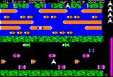 Frogger Apple II A frog crossing the road...