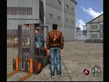 Shenmue Dreamcast Hmm, I bet those forklifts are fun to drive.