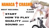 Nanaca Crash!! Browser Title screen.