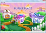 Microsoft Windows 7 (included games) Windows Opening screen for Purble Place. Click on one of the buildings to start one of 3 games.