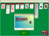 "Microsoft Windows XP (included games) Windows The Spider logo on the ""About Spider"" screen"