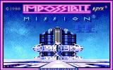 Impossible Mission II Amiga Title screen