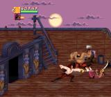 Cutthroat Island SNES Even on her own ship Morgan has to deal with scoundrels.