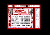 Professional Ski Simulator Amstrad CPC Title screen