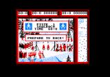Professional Ski Simulator Amstrad CPC Prepare to race slope 1.