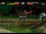 Brutal: Above the Claw SEGA 32X Watching the replay