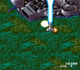Acrobat Mission SNES Demonstrating a charge shot.