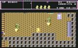 The New Zealand Story Commodore 64 A dude riding a yellow thingy