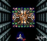 Acrobat Mission SNES You have to take out three layers of turrets to bring down Boss #3