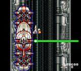 Acrobat Mission SNES Mini-frigates don't seem so mini when they can fill most of the tube.